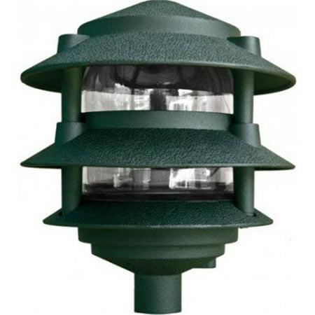 Dabmar Lighting D5013 G 6 X 0 5 In 13w 120v S13 Gu24 Three Tier Paa Light Green