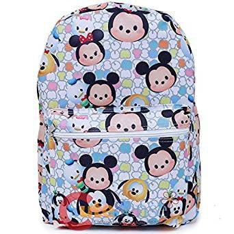 Backpack Disney Nightmare Before Christmas Tsum Tsum Jack Sally White 16 in
