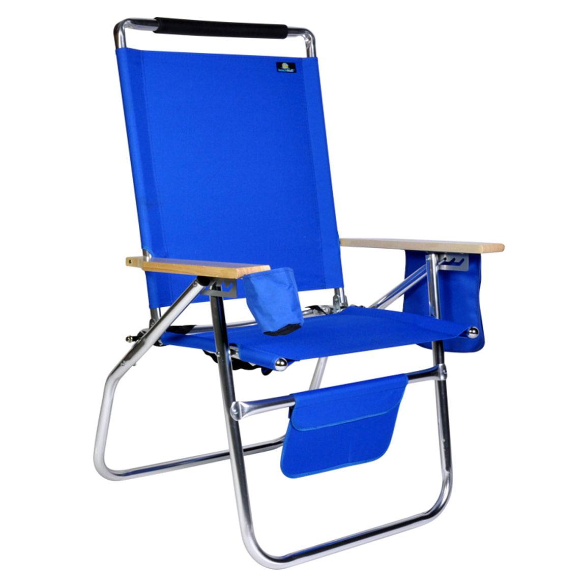 Deluxe 17 inch High Seat Aluminum Beach Chair