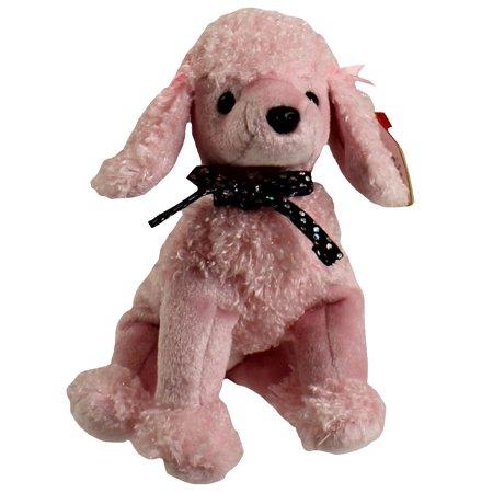 e5ac84182ac TY Beanie Baby - BRIGITTE the Pink Poodle (6.5 inch) - Walmart.com