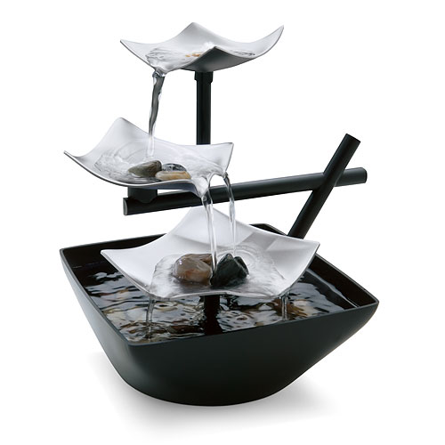 HoMedics EnviraScape Silver Springs Relaxation Fountain