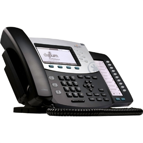 Digium Phone, D70 6-Line SIP with HD Voice, Backlit Display, International Version, Icon Keys 1TELD071LF