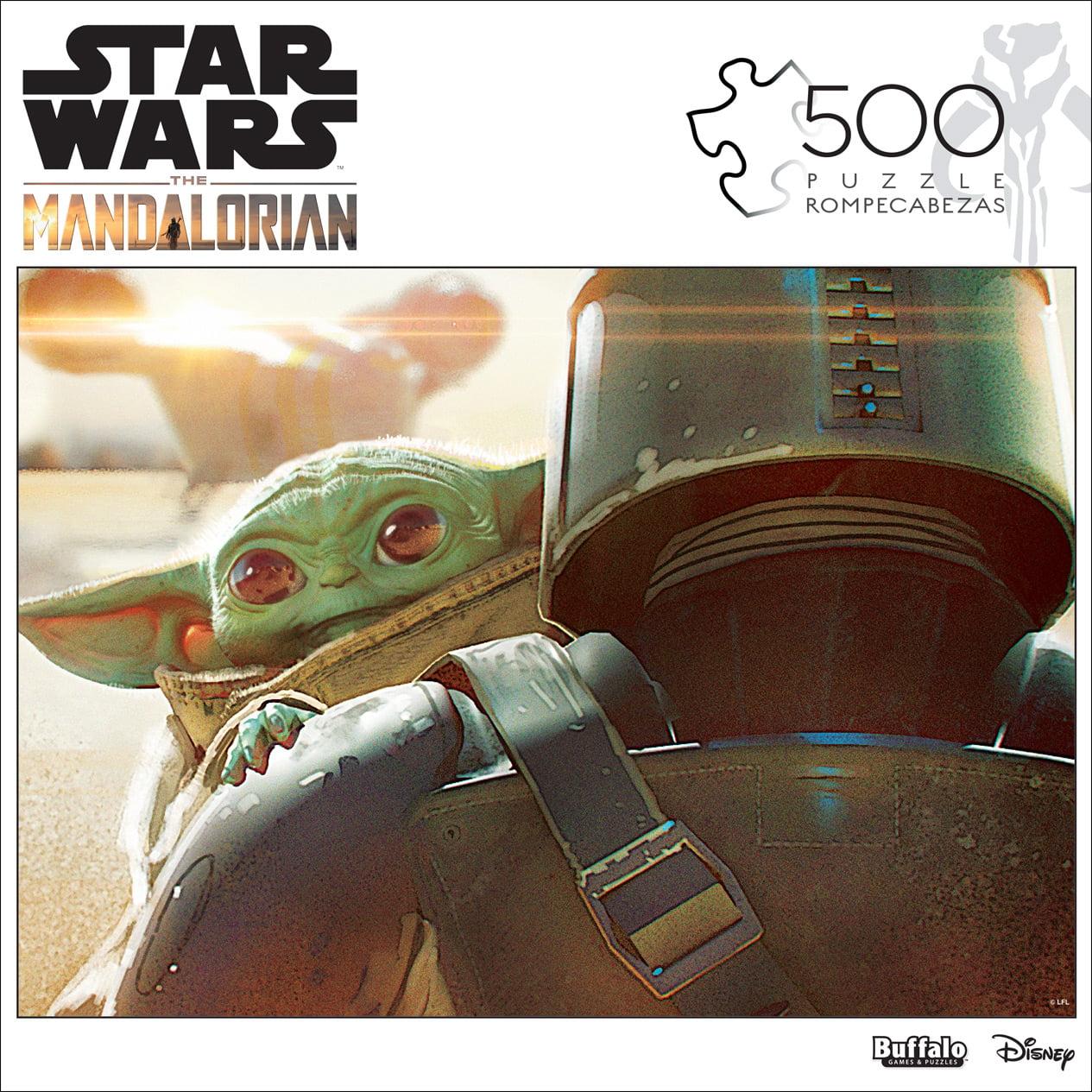 Star Wars Mandalorian The Child Baby Yoda Jigsaw Puzzle 500 Pcs Buffalo Disney