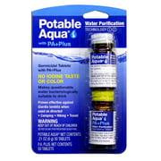 Potable Aqua Water Purification Tablets With Pa Plus - 1 Kit