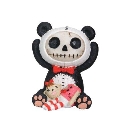 Furry Bones Panda Collectible Figurine