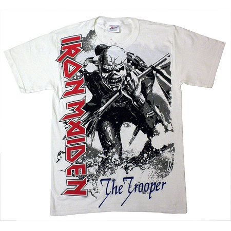 Iron Maiden Trooper T-Shirt (White)
