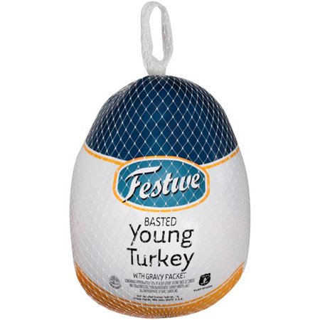 Frozen Festive Basted Young Turkey, 10-16lbs