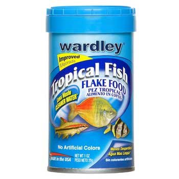 Wardley Tropical Fish Flakes, 1 oz. (Pack of 6)