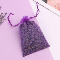 AkoaDa 100% Fresh Dried Natural Organic Lavender Sachet Made With Purple Creative
