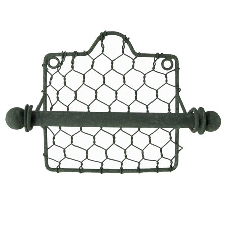 Primitive Country Style Chicken Wire Toilet Paper TP Holder Farmhouse Bath (Country Paper Holders)