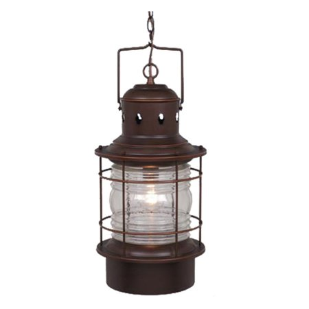 Vaxcel Hyannis Outdoor Pendant - 10W in. Burnished Bronze