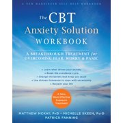 The CBT Anxiety Solution Workbook - eBook