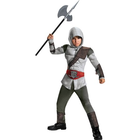 Assassin Costumes For Kids (Assassin Muscle Child Halloween)