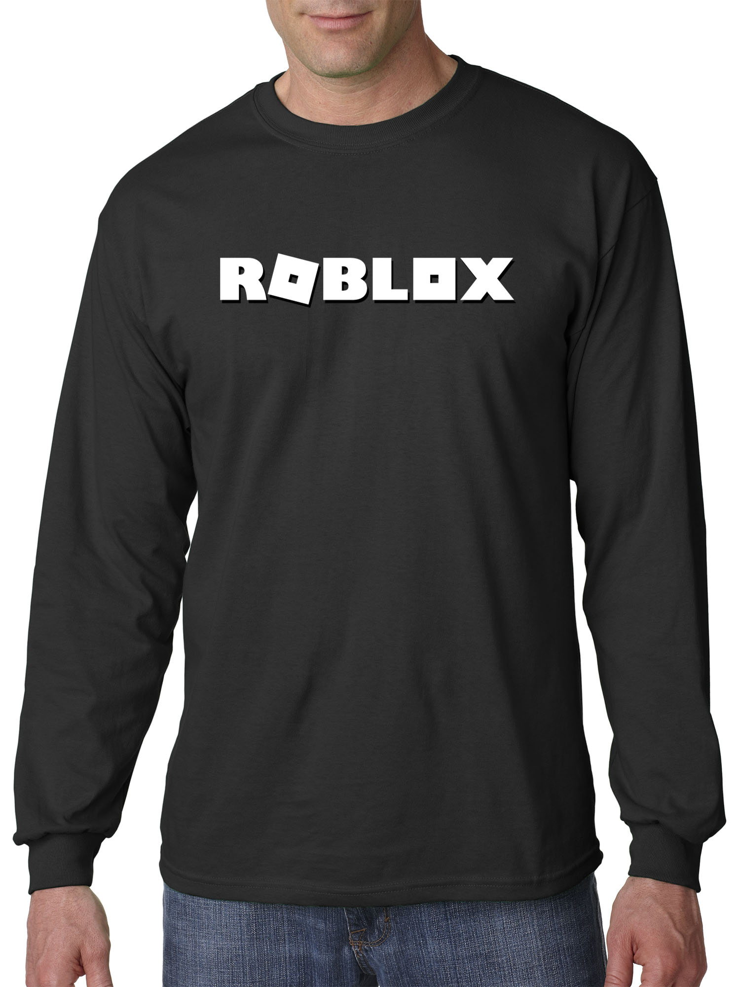 New Way New Way 923 Unisex Long Sleeve T Shirt Roblox Logo