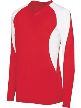 Girls Long Sleeve Court Jersey-342183
