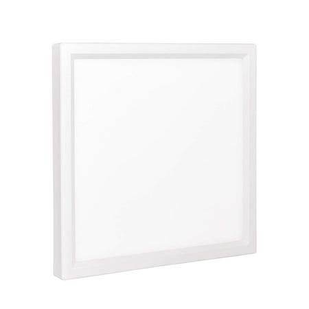Luxrite 6 Inch Square Led Flush Mount Ceiling Light 15w
