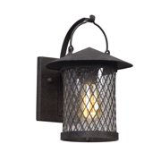 """Troy Lighting B5171 Altamont 1 Light 8"""" Wide Hand Forged Outdoor Wall Sconce wit"""