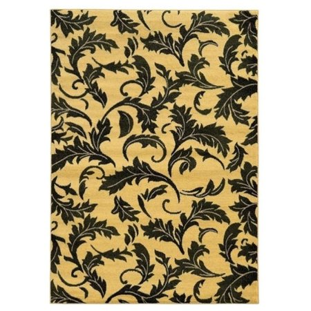 Hawthorne Collection 8' x 10' Rug in Green and Cream