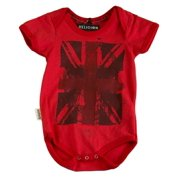 RELIGION Unisex Baby's Red Flag Printed Bodysuit BO10SUG02 6-9 Mo NEW