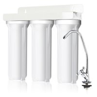 Deals on Goplus 3-Stage Under-Sink Water Filter System Water Filtration