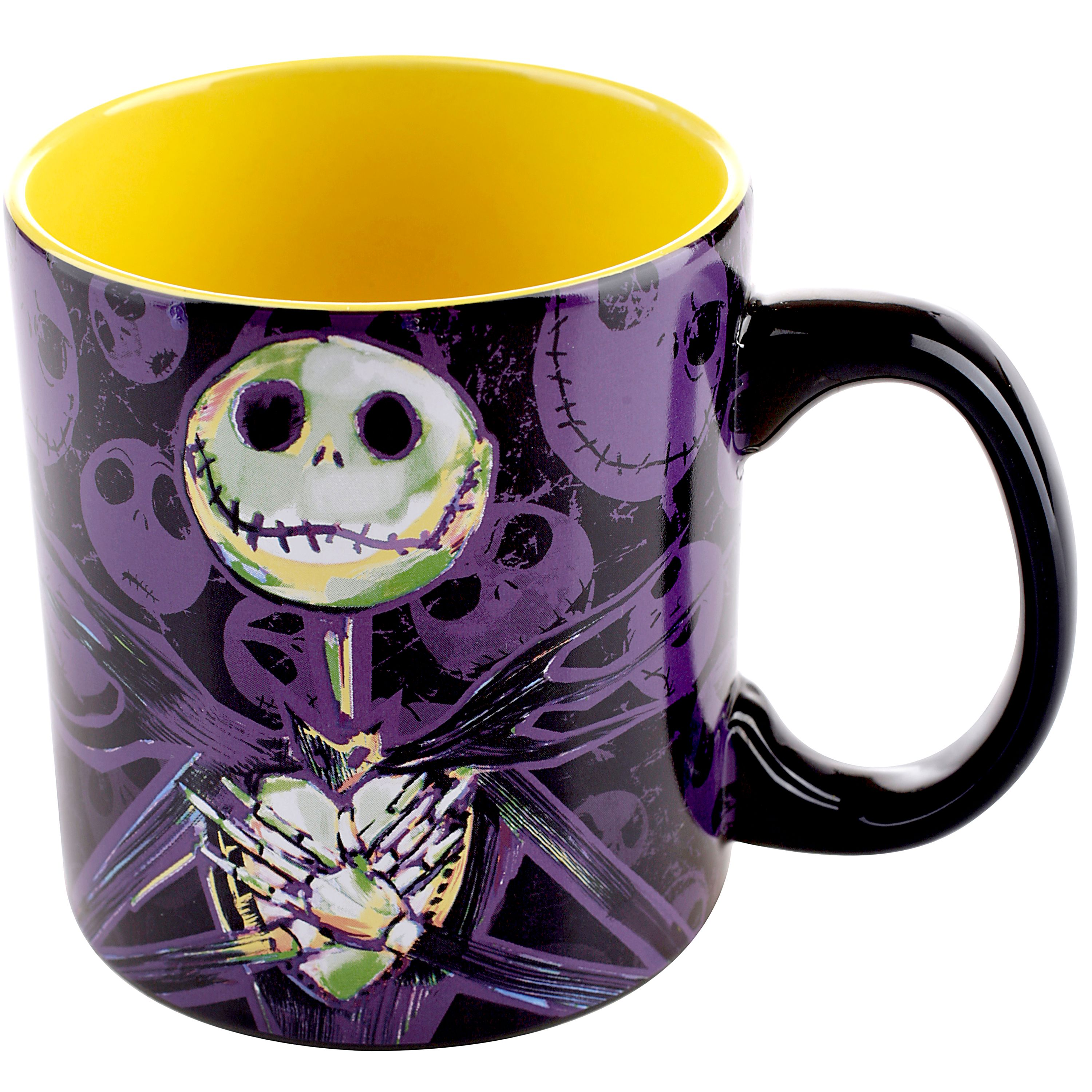 Nightmare Before Christmas, licensed 20 oz. Ceramic Mug, Black and ...