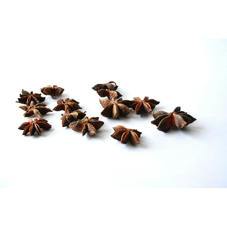 LAMINATED POSTER Star Anise Illicium Verum Anise Chinese Star Anise Poster Print 24 x 36
