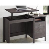 Ameriwood Home Adler Lift-Top Desk (Light Brown)