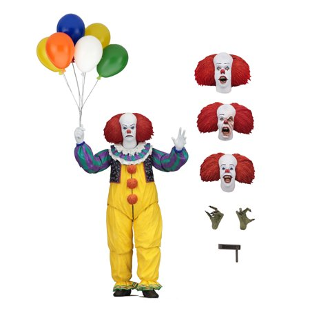 """IT - 7"""" Scale Action Figure - Ultimate Pennywise (1990)"""