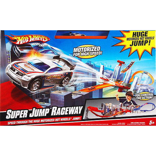 Hot Wheels Super Jump Raceway by Mattel