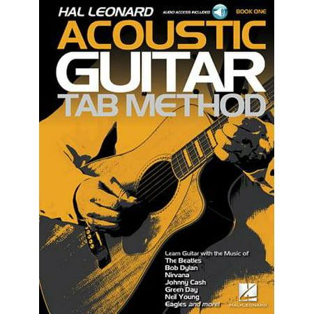 Hal Leonard Acoustic Guitar Tab Method - Book 1 : Book with Online (Tab Guitar Method Book)