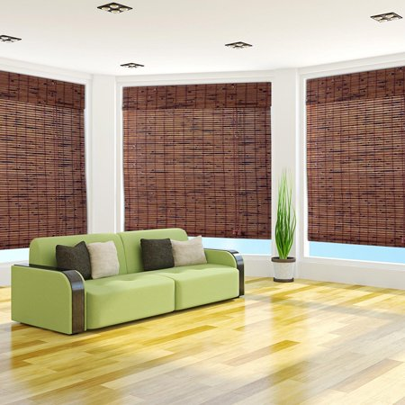 Arlo Blinds Java Vintage Bamboo shades,16