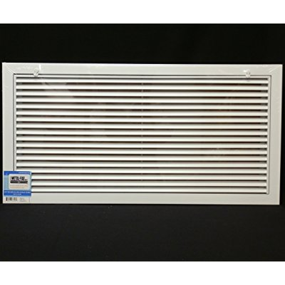 30 x 20 Aluminum Return Filter Grille - Easy Air FLow - Linear Bar Grilles