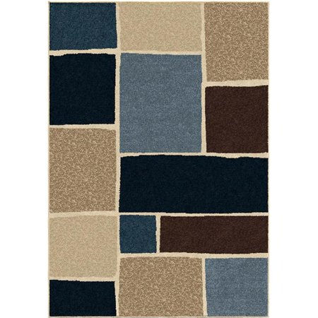 Orian Rugs 1848 8x11 8 x 11 in. Indoor & Outdoor Blocks Graycliff Area Rug - Multicolor - image 1 of 1