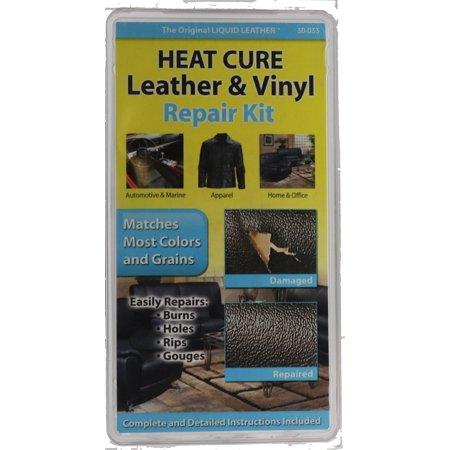 Liquid Leather - Liquid Leather  HEAT CURE Leather & Vinyl Repair Kit (30-033)