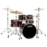 PDP by DW Concept Maple 6-Piece Shell Pack Transparent Cherry