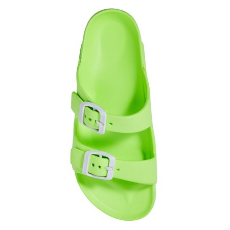 Wonder Nation Basic Footbed Buckle Sandal (Little Girls & Big Girls)