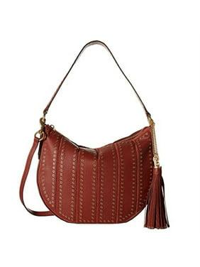 7466e9758cf6 Product Image MICHAEL Michael Kors Suede Medium Convertible Brick Hobo  Handbag