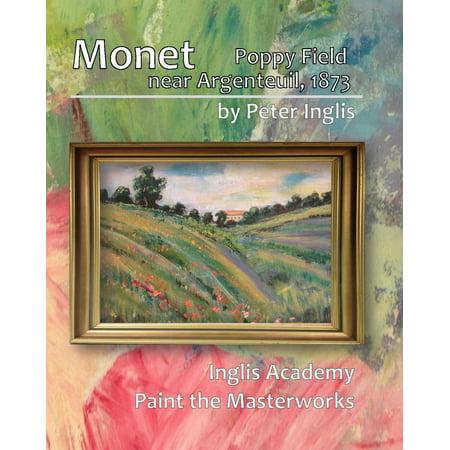 Monet: Poppy Field Near Argenteuil, 1873 - eBook Poppy Field Argenteuil