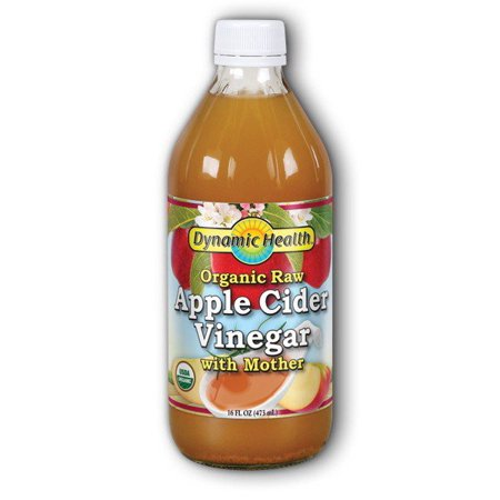 Organic Apple Cider Vinegar With Mother Dynamic Health 16 oz