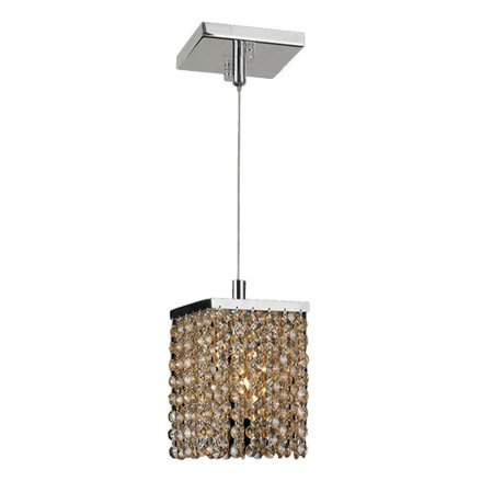 Worldwide Lighting Prism 1-Light Mini Pendant
