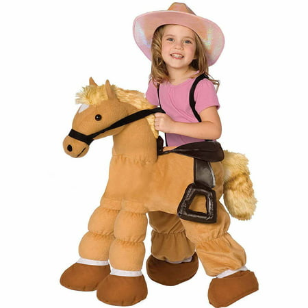 Plush Pony Child Halloween Costume One Size - Pony Maker Halloween