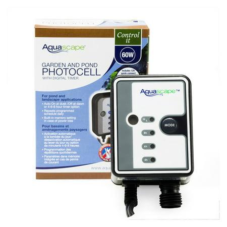 Aquascape Photocell Sensor with Digital Timer