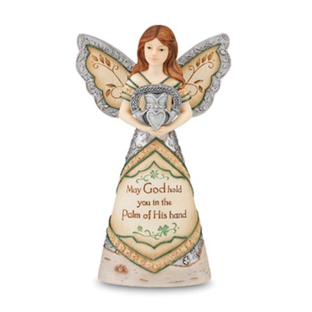 Pavilion Gift Company Elements 82188 Irish Blessing Angel Figurine