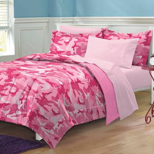 My Room Geo Camo Bedding Comforter Set W