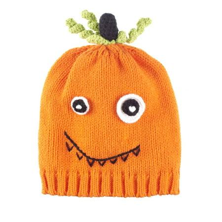 - Baby Ganz Pumpkin Crochet Baby Cap