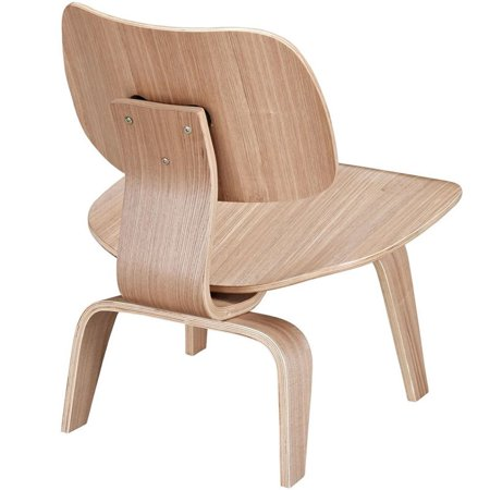 Plywood Lounge Wood Chair in Natural # EEI-510-NAT - image 2 de 4