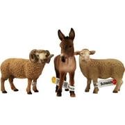 Schleich Farm Animals Figurine Set 2