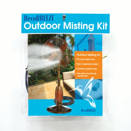 DecoBREEZE Outdoor Misting Kit for Outdoor
