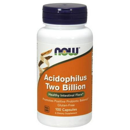 Acidophilus 2 Billion Milk Free Now Foods 100 Caps