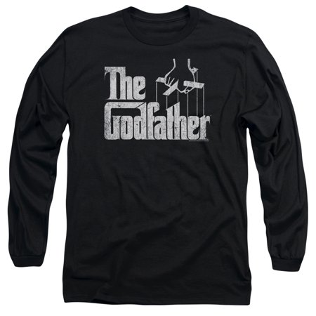 The Godfather Logo Mens Long Sleeve Shirt